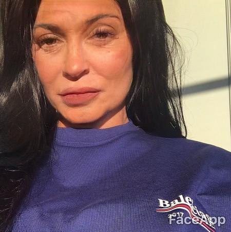 Faceapp Kylie Jenner