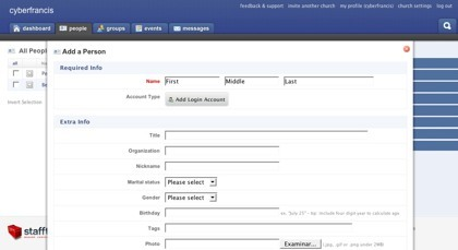 Stafftool, organizando grupos de usuarios