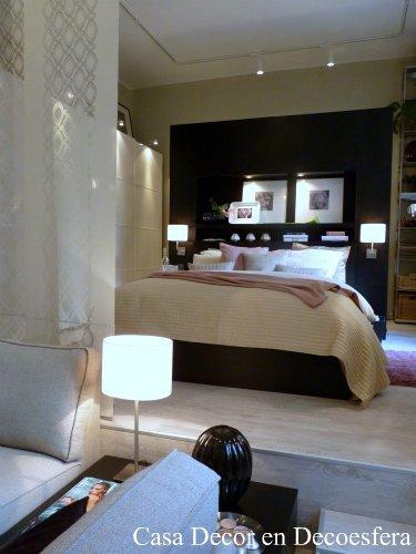 Dormitorio del espacio Ikea en Casa Decor