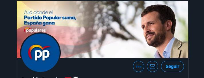 Twitter, Facebook e Instagram eliminan cientos de cuentas falsas que atribuyen al PP por manipular la opinión pública #lomásvisto
