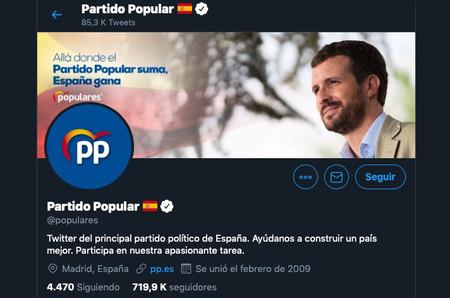 Twitter, Facebook e Instagram eliminan cientos de cuentas falsas que atribuyen al PP por manipular la opinión pública