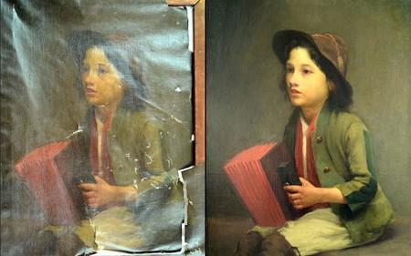 Otra imagen que muestra el antes y el después