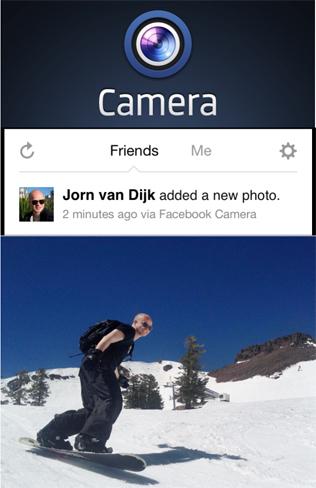 Facebook Camera, al más puro estilo Instagram