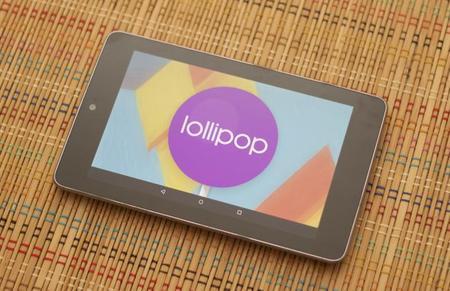 ROM de fabrica de Android 5.0.2 para la Nexus 7 3G & LTE (2012/13)