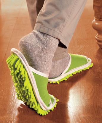 Zapatillas escoba