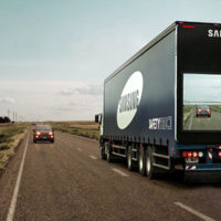 """Samsung """"Safety Truck"""": un camión 'transparente' que podría salvar muchas vidas"""