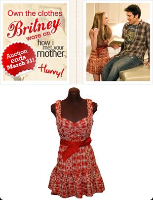 Los vestidos de Britney Spears a subasta