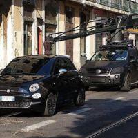 El nuevo FIAT 500 2015 se paseó así por Lisboa
