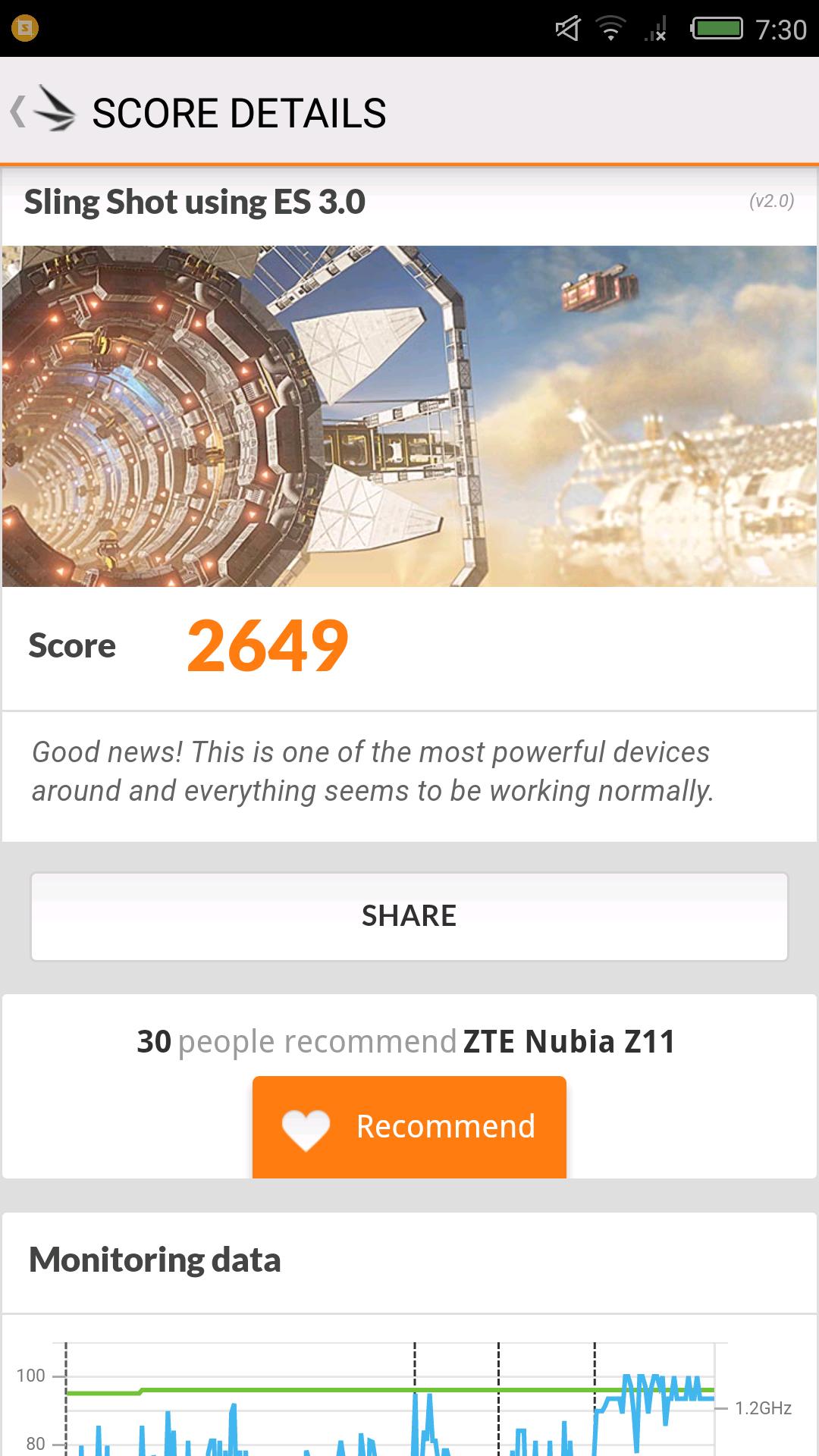 Foto de Nubia Z11, benchmarks (29/31)