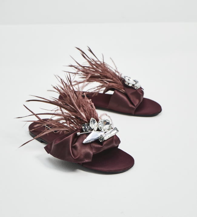 Sandalias Zara Exclusivas