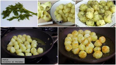 patatas estragon pasos