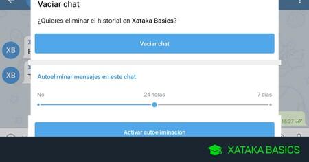 Mensajes temporales en Telegram: cómo hacer que se autodestruyan sin usar los chats secretos