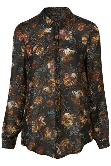 Flores camisas TopShop
