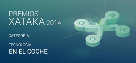 Vota por la mejor tecnología en el coche en los Premios Xataka 2014