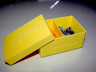 Una caja personalizable y con separadores es lo que deberías fabricar con tu impresora 3D