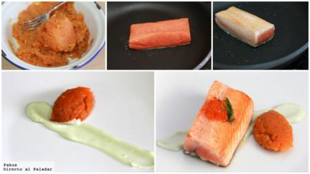 Salmon Boniato Paso Paso