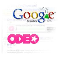 Google Reader soporta el lector de Odeo