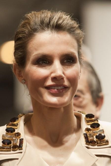 ¿Es Audrey? No, es la Princesa Letizia en Arco
