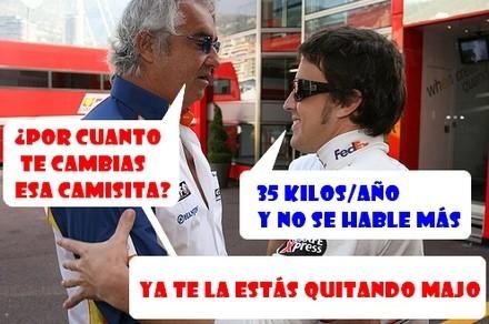 Fernando Alonso vuelve con Renault