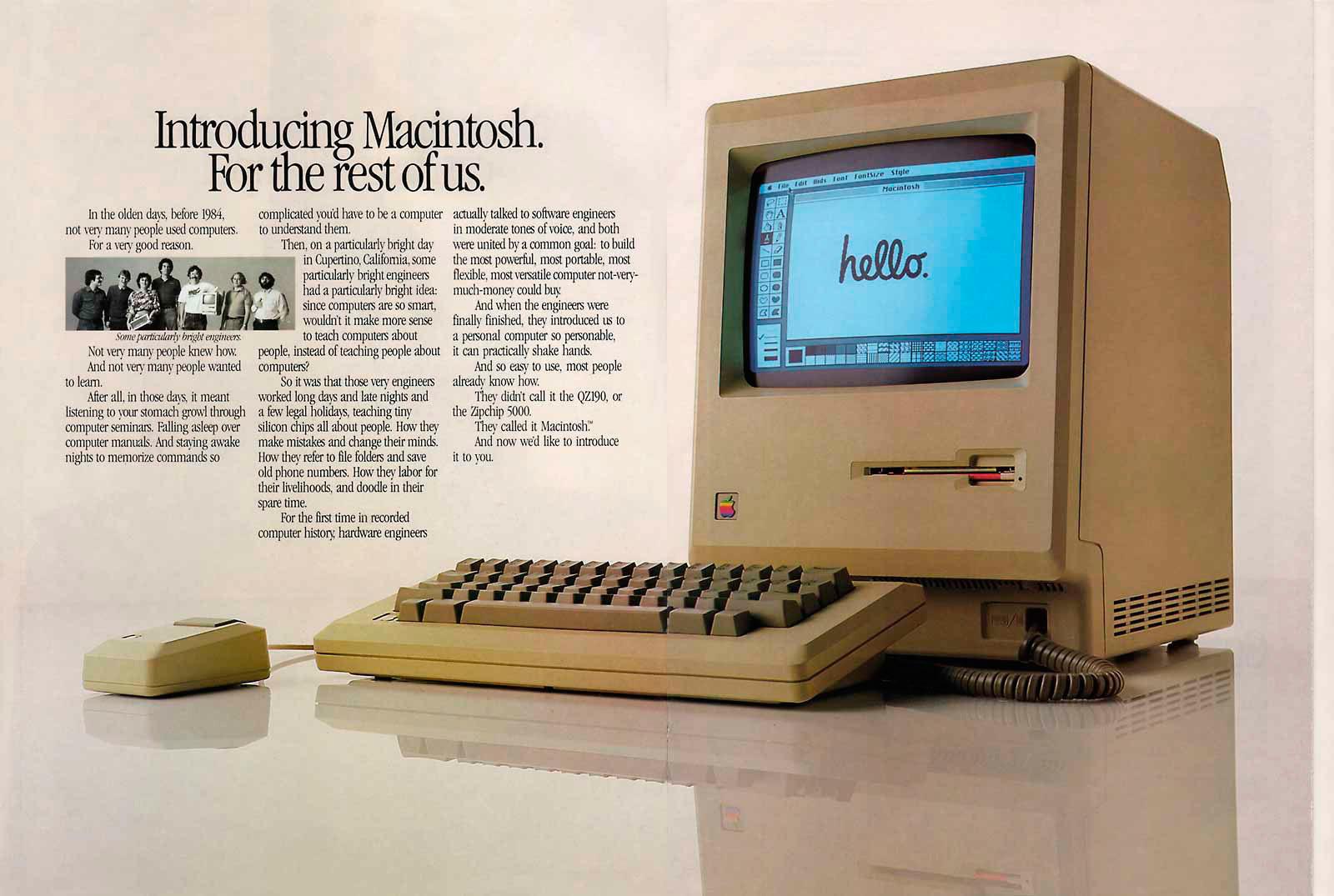 Foto de Presentación del Macintosh en Newsweek (2/11)
