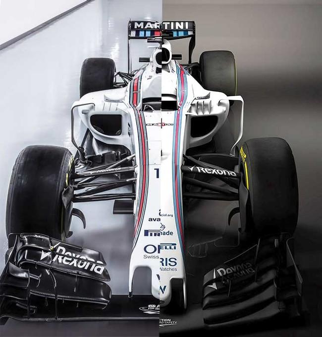 Williams FW40, comparación