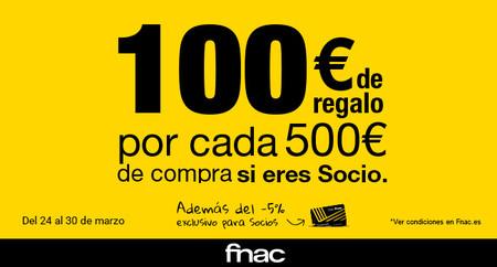 Fnac te regala 100€ por cada 500 de compra: ideas para darte el capricho