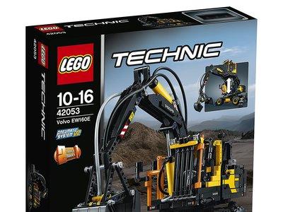 Tremendo set de Lego Technic Volvo EW 160E por 68,45 euros con envío gratuito en Amazon