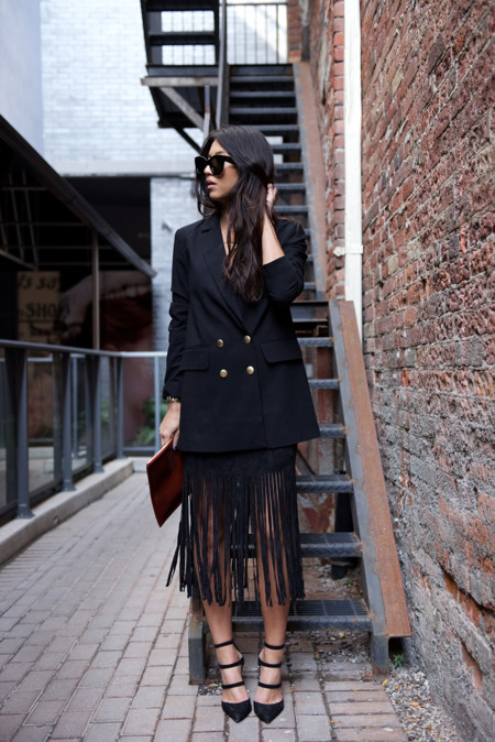 Color Negro Looks Outfits Otono 2015 3