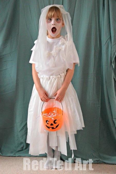 Disfraz Halloween Facil Barato Fantasma 4