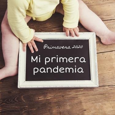 """""""Mi primera pandemia"""", las fotos de bebés que buscan crear un recuerdo positivo de la cuarentena"""