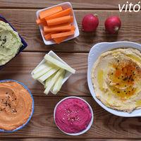 Los snacks vegetarianos más sanos y ligeros para no subir de peso