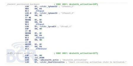 Nuevo iPhone cerca. Probablemente un modelo CDMA para Verizon