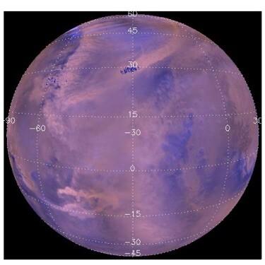 Se mapean 14.974 tormentas de polvo en Marte durante ocho años