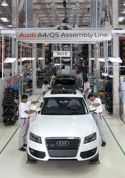 Comienza la producción del Audi Q5 en la India