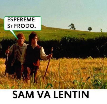 Sam va lentín: Vuelve a regalar un hobbit