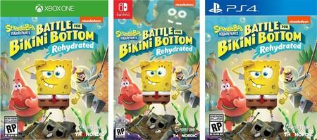Juego de Bob Esponja para Xbox, PlayStation y Nintendo Switch en Amazon México