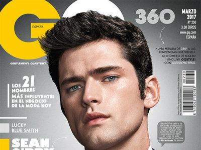 Sean O'Pry reafirma su indiscutible trono como top model mundial en la portada de marzo de GQ España