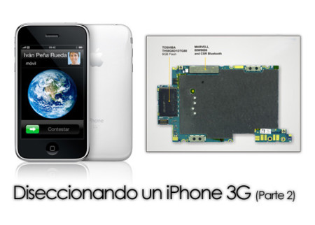 Diseccionando un iPhone 3G