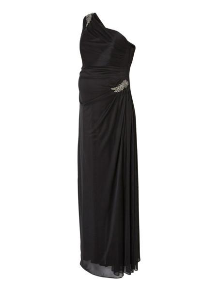 Vestido Maxi Premama Negro
