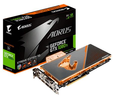 Aorus GeForce GTX 1080 Ti Waterforce de Gigabyte permitirá jugar en 4K y 60 FPS con enfriamiento liquido