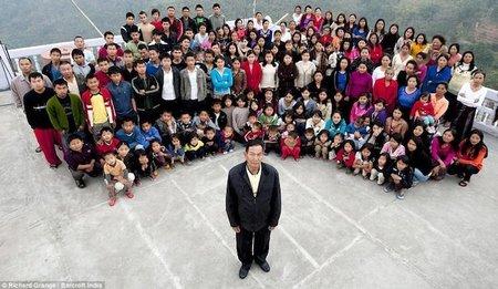 La familia más grande del mundo