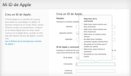 Contraseña ID de Apple