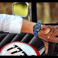 Los relojes Straton tienen colores que te recordarán a los coches de carreras...a todas horas