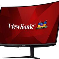 ViewSonic VX3218-PC-MHD: monitor curvo de 31,5 pulgadas, Full HD con hasta 165 Hz en pantalla