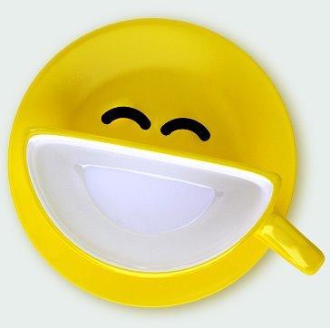 Smile Cup, una taza muy alegre