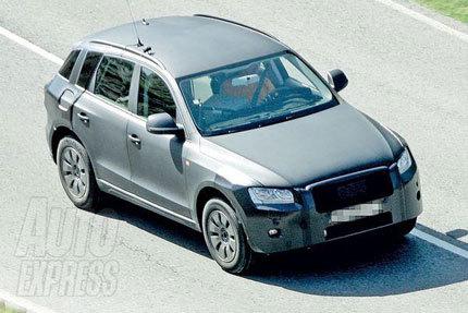 Audi Q5, presentación definitiva en Frankfurt (o en Ginebra...)
