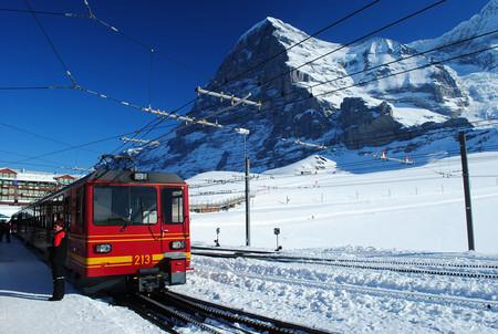 Jungfraubahn With Eiger