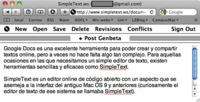 SimpleText.ws, sencillísimo editor de textos online