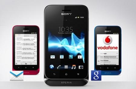 Ice Cream Sandwich también en prepago Vodafone con el Sony Xperia Tipo y en contrato con el Xperia Miro
