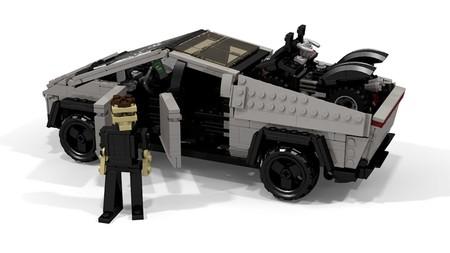 Tesla Cybertruck Lego By Peter Blackert 8